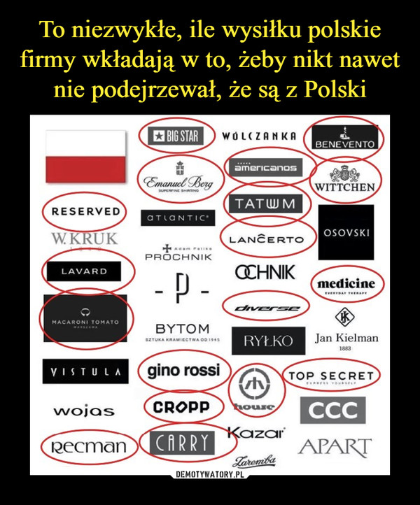 To niezwykłe, ile wysiłku polskie firmy wkładają w to, żeby nikt nawet nie podejrzewał, że są z Polski