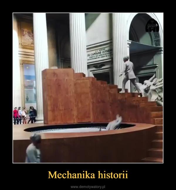 Mechanika historii –