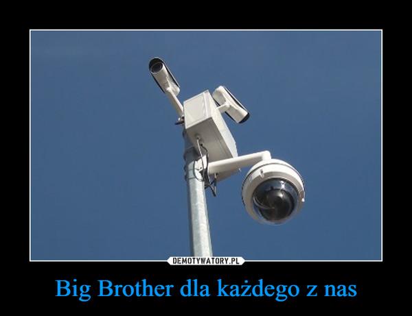 Big Brother dla każdego z nas –