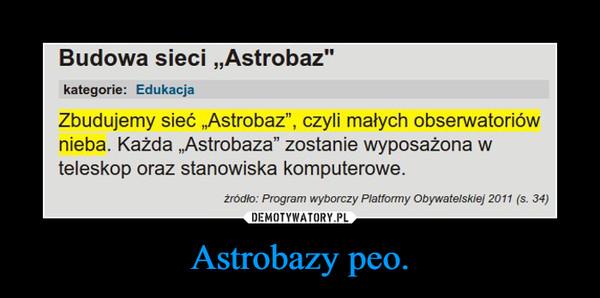 Astrobazy peo. –