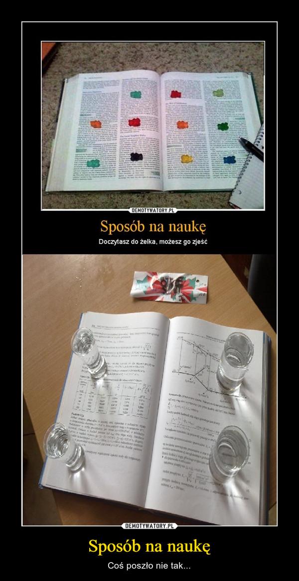 Sposób na naukę – Coś poszło nie tak...