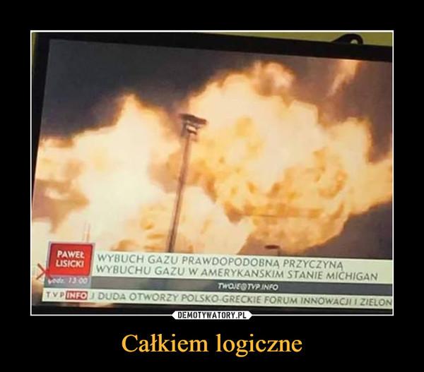 Całkiem logiczne –  wybuch gazu prawdopodobną przyczyną wybuchu gazu