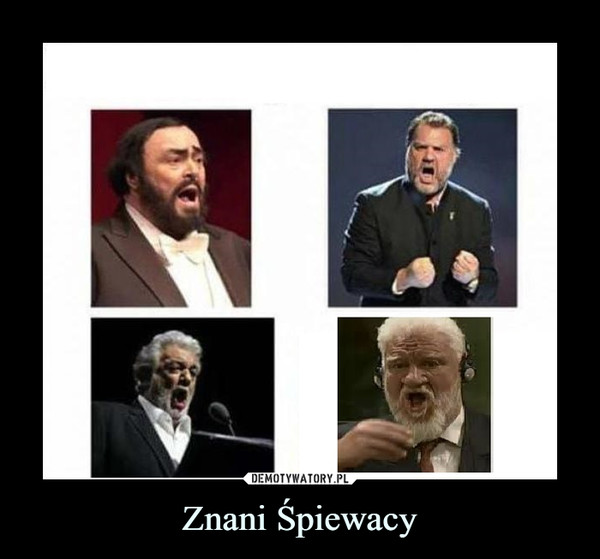 Znani Śpiewacy –