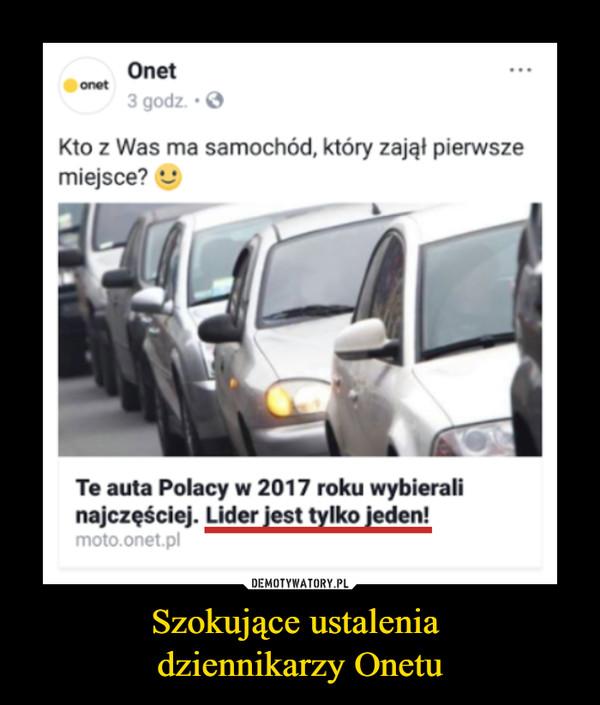 Szokujące ustalenia dziennikarzy Onetu –
