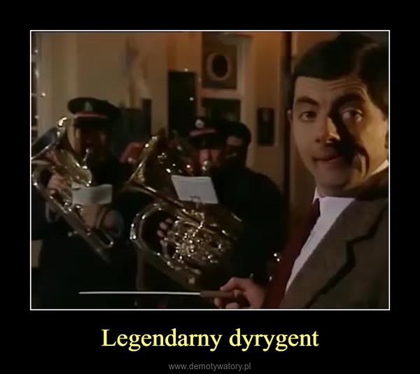 Legendarny dyrygent –