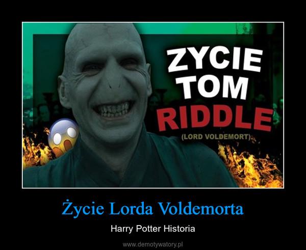 Życie Lorda Voldemorta – Harry Potter Historia