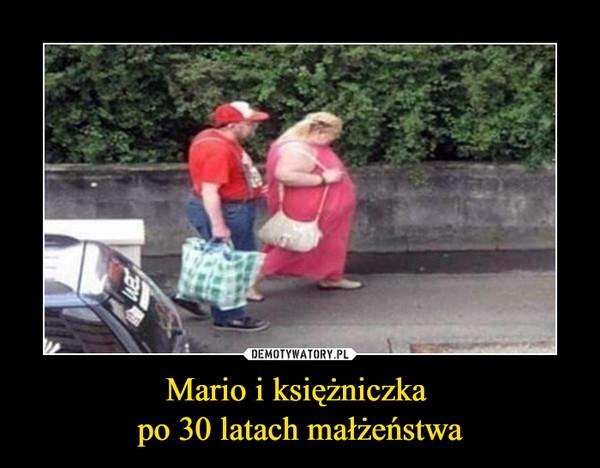Mario i księżniczka po 30 latach małżeństwa –