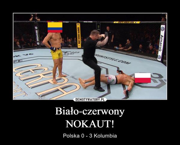 Biało-czerwonyNOKAUT! – Polska 0 - 3 Kolumbia