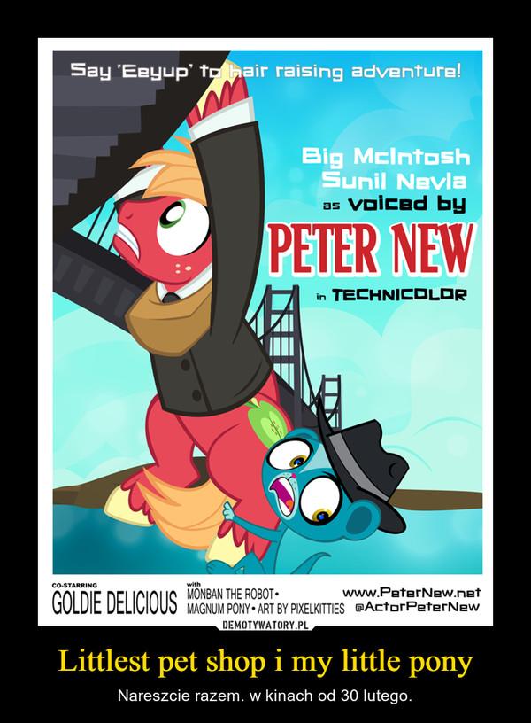 Littlest pet shop i my little pony – Nareszcie razem. w kinach od 30 lutego.