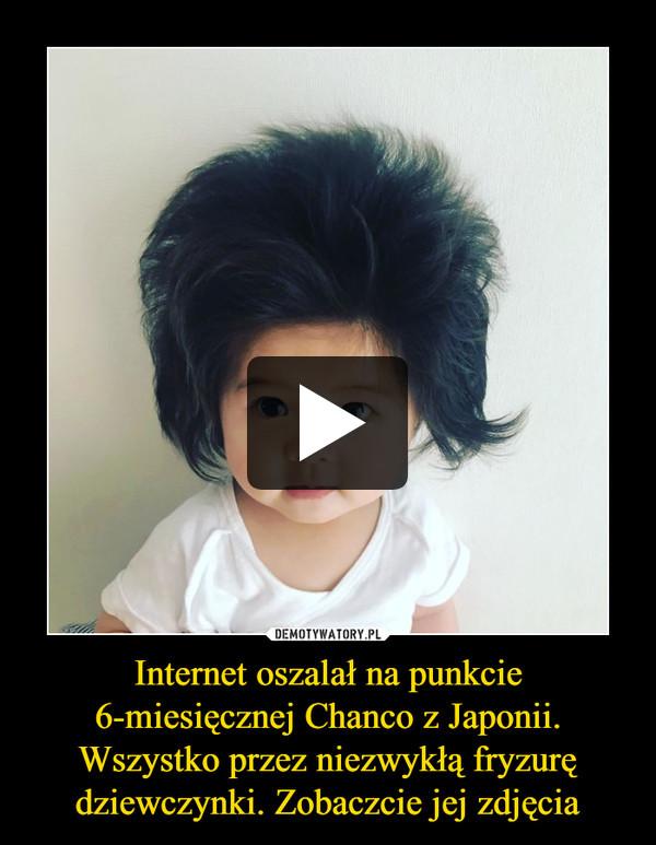 Internet oszalał na punkcie 6-miesięcznej Chanco z Japonii. Wszystko przez niezwykłą fryzurę dziewczynki. Zobaczcie jej zdjęcia –