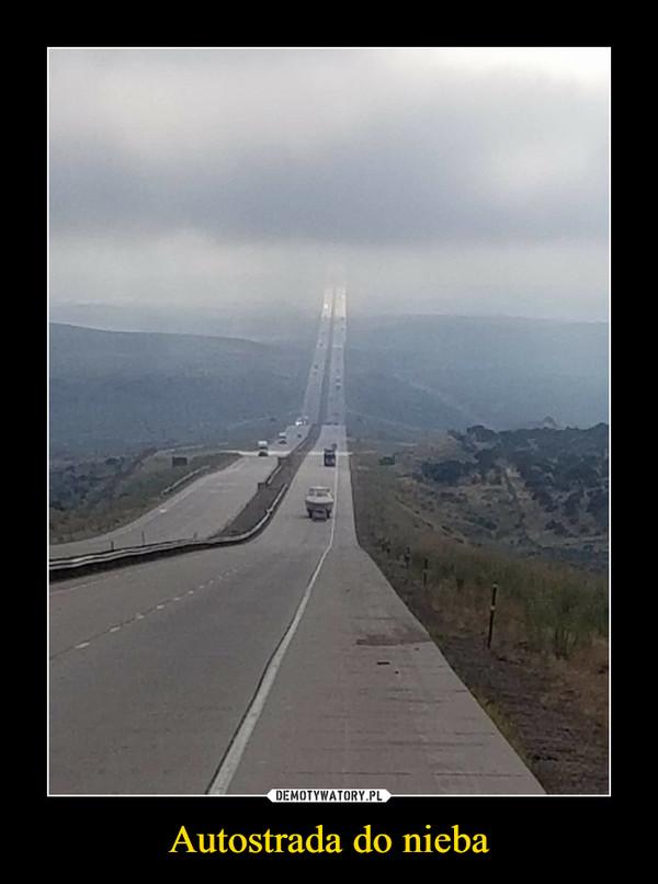 Autostrada do nieba –