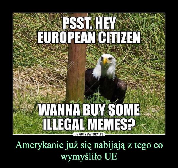 Amerykanie już się nabijają z tego co wymyśliło UE –