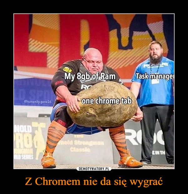 Z Chromem nie da się wygrać –