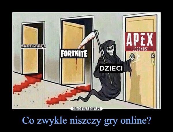 Co zwykle niszczy gry online? –