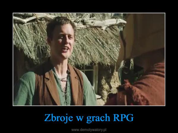 Zbroje w grach RPG –