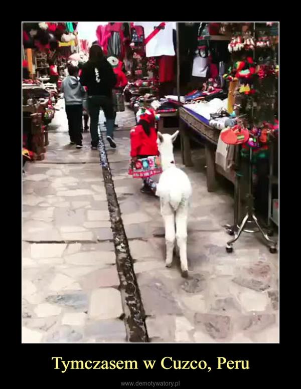 Tymczasem w Cuzco, Peru –