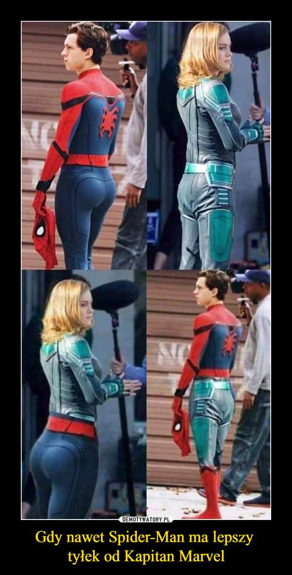 Gdy nawet Spider-Man ma lepszy tyłek od Kapitan Marvel –