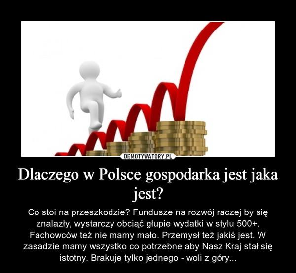 Dlaczego w Polsce gospodarka jest jaka jest?