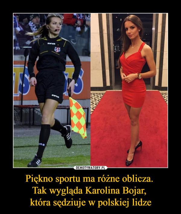Piękno sportu ma różne oblicza. Tak wygląda Karolina Bojar, która sędziuje w polskiej lidze –