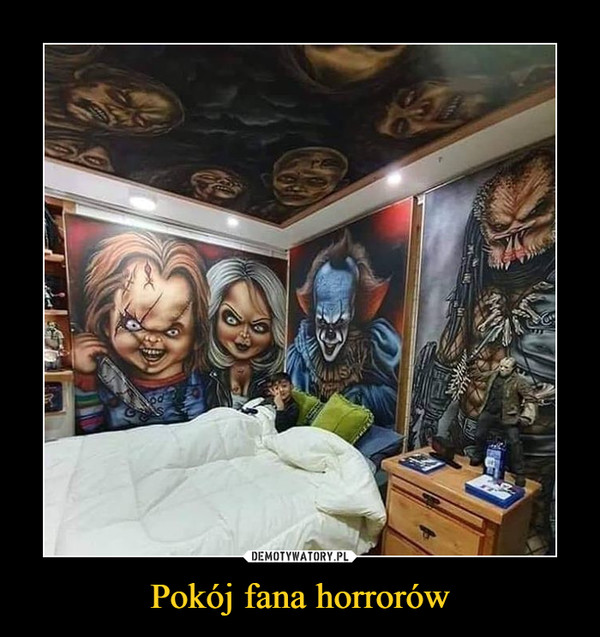 Pokój fana horrorów –