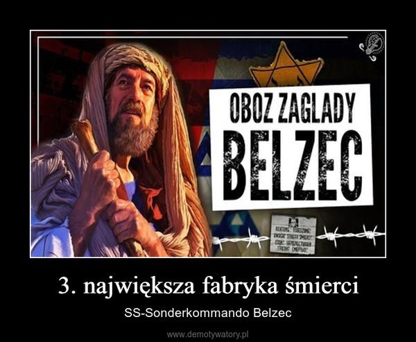 3. największa fabryka śmierci – SS-Sonderkommando Belzec