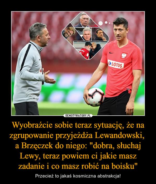 """Wyobraźcie sobie teraz sytuację, że na zgrupowanie przyjeżdża Lewandowski, a Brzęczek do niego: """"dobra, słuchaj Lewy, teraz powiem ci jakie masz zadanie i co masz robić na boisku"""" – Przecież to jakaś kosmiczna abstrakcja!"""