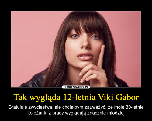 Tak wygląda 12-letnia Viki Gabor