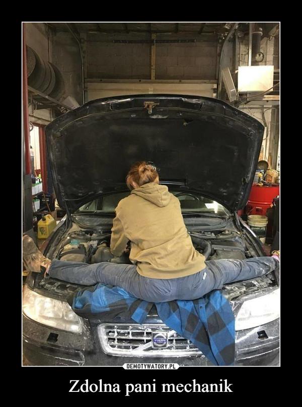 Zdolna pani mechanik –