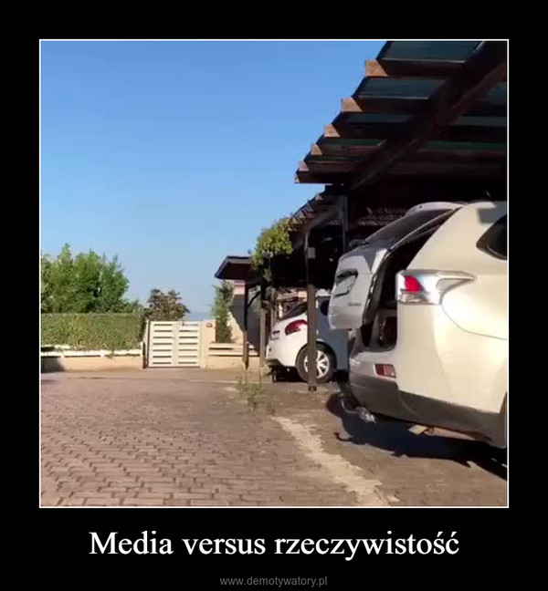 Media versus rzeczywistość –