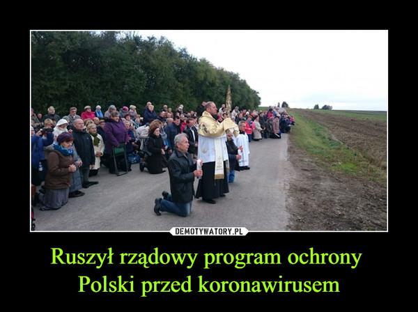 Ruszył rządowy program ochrony Polski przed koronawirusem –