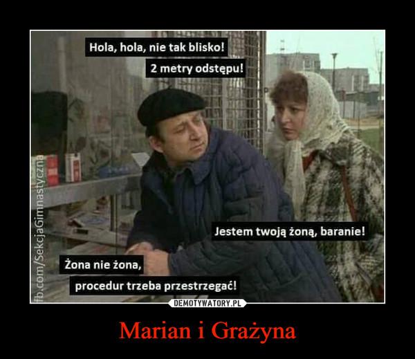 Marian i Grażyna –