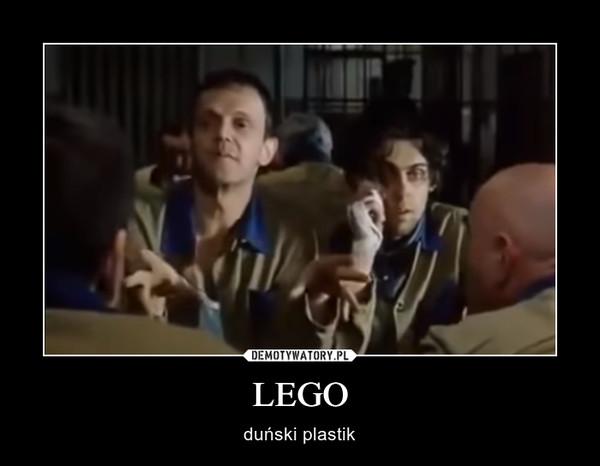LEGO – duński plastik