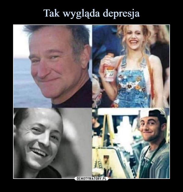 Tak wygląda depresja