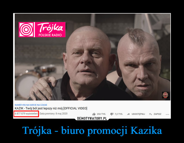 Trójka - biuro promocji Kazika –