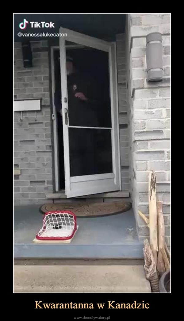 Kwarantanna w Kanadzie –