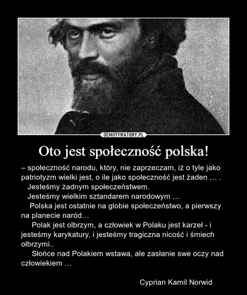 Oto jest społeczność polska!