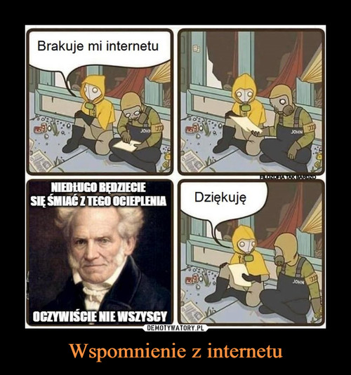Wspomnienie z internetu