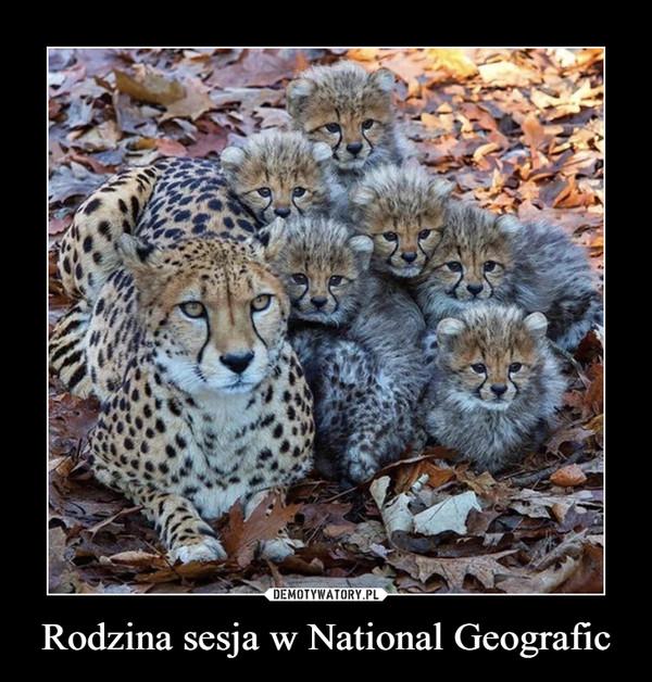 Rodzina sesja w National Geografic –