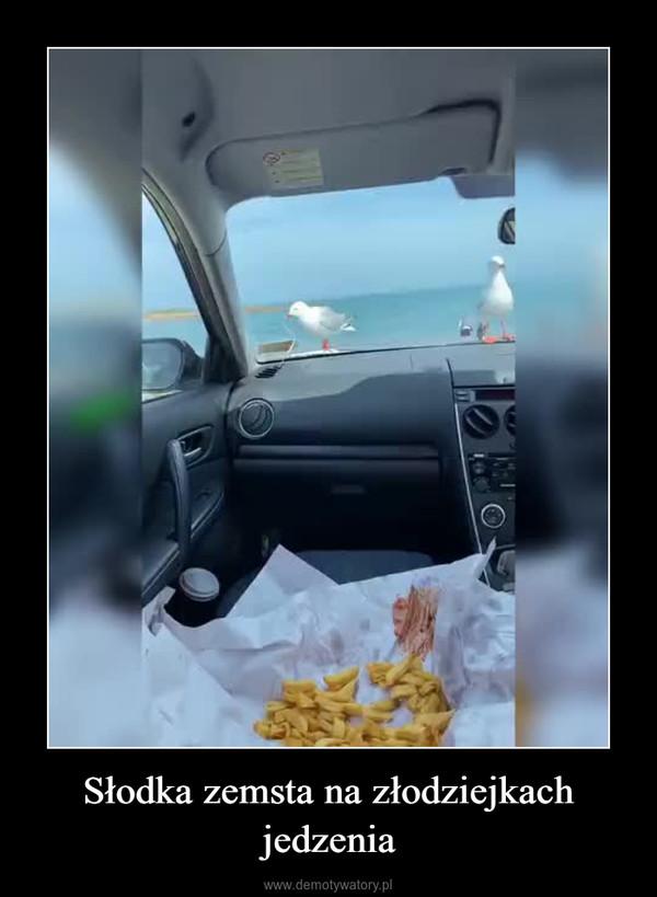 Słodka zemsta na złodziejkach jedzenia –