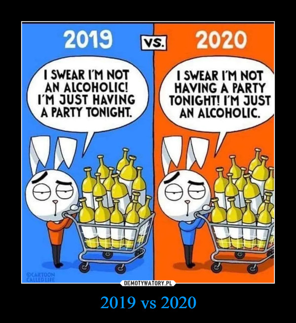 2019 vs 2020 –