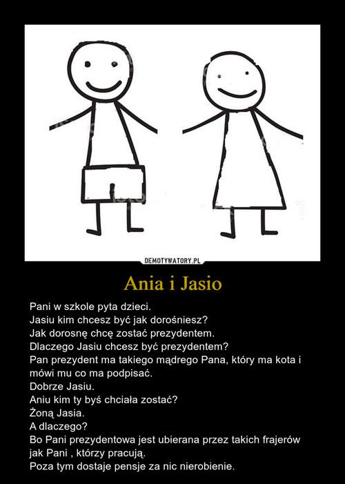 Ania i Jasio