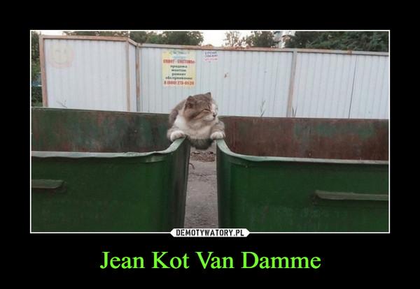Jean Kot Van Damme –