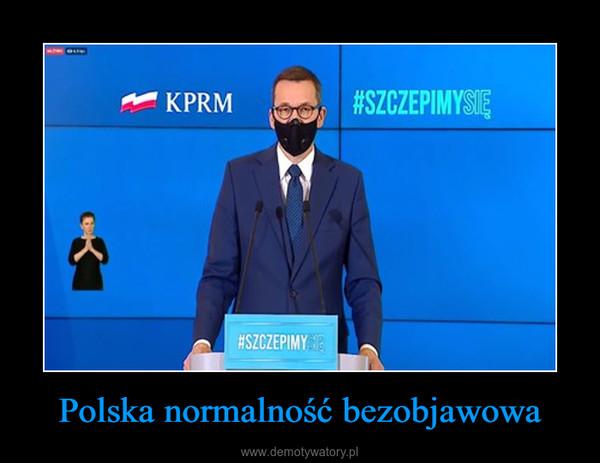 Polska normalność bezobjawowa –