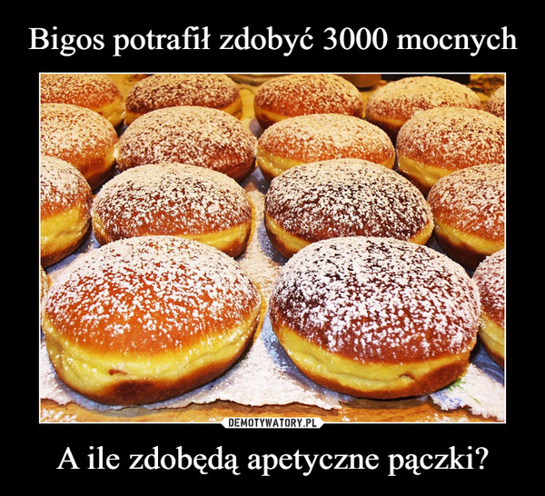 A ile zdobędą apetyczne pączki? –