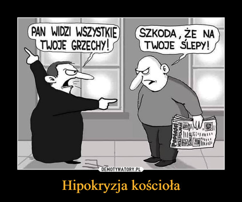 Hipokryzja kościoła