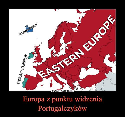 Europa z punktu widzenia Portugalczyków