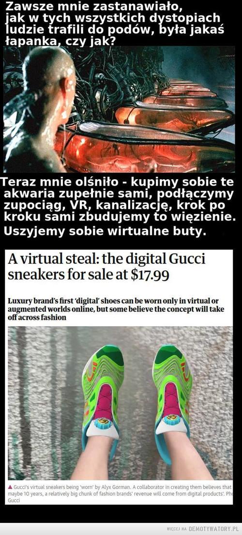 Uszyjmy sobie wirtualne buty