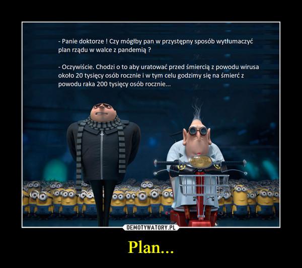 Plan... –