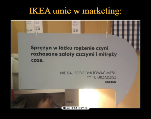 IKEA umie w marketing: