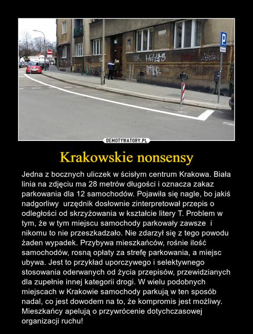 Krakowskie nonsensy
